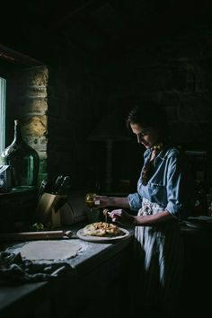 Dark and Moody food photography inspiration. This pin was discovered by Harvest and Honey   harvestandhoney.com