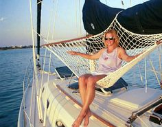 Sailboat Hammock in use                                                                                                                                                                                 More