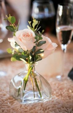 Need to get in the mood to write romance? Just a couple roses (or another favorite flower) and a glass of bubbly (can be 7-up in a champagne flute or wine goblet) can be just the ticket!