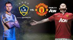 Berita dan Prediksi Liga Inggris Pra musim 2014-2015 ,Statistik pertandingan Prediksi L.A Galaxy vs Manchester United 24 Juli 2014 pukul:03:00 wib.