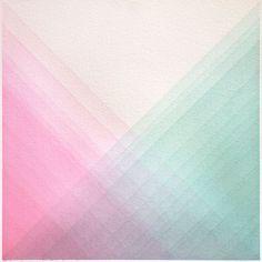 "Saatchi Online Artist: Alex Diamond; Watercolor, 2012, Painting ""Random Array 2"""