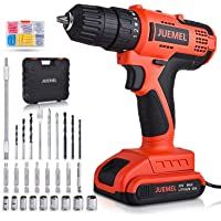 Juemel 20v Cordless Drill Driver W 100 Piece Accessory Kit Only 36 79 Edeal Info Get Juemel 20v Cordless Drill Driver In 2020 Cordless Drill Drill Set Drill Driver