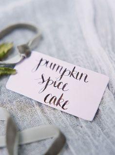 Fall Wedding Cake Inspiration   by Coco Paloma Desserts on TheCakeBlog.com