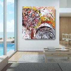 Produzione e Vendita online di Quadri moderni astratti - 100% dipinti a mano