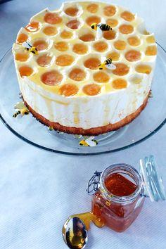 Cake innovation. Yoghurt and honey cheececake from cutiepie.fi