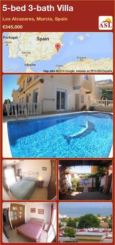5-bed 3-bath Villa in Los Alcazares, Murcia, Spain ►€345,000 #PropertyForSaleInSpain