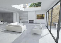 We are a leading firm of residential architects specialising in designing contemporary new homes and period renovations in London, Surrey and the South East Architects London, Residential Architect, Outdoor Furniture Sets, Outdoor Decor, Living Rooms, Extensions, New Homes, Contemporary, Interior Design