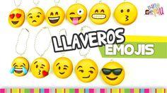 FÁCIL✔ EMOJIS Keychain / LLAVEROS de Emojis