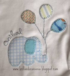 Discover thousands of images about Color patchwork baby jacket inspiration [] # # # Baby Applique, Baby Embroidery, Applique Patterns, Applique Quilts, Applique Designs, Quilt Patterns, Sewing Patterns, Diy Halloween Projects, Amarillis