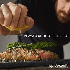Spidocook professional cooking tools. #spidocook #professional #kitchen #tools #cooking #cuisine #chef Professional Kitchen, Cooking Tools, Kitchen Tools, Happy Hour, Steak, Food, Dinner, Kitchens, Diy Kitchen Appliances
