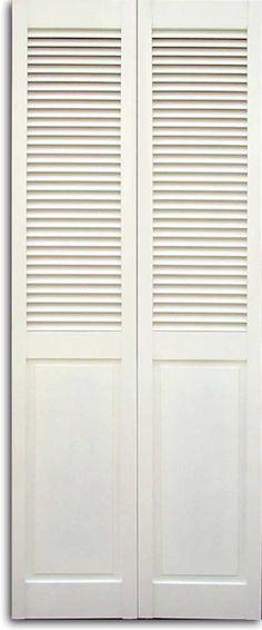 Louvered Garden Doors Google Search Bifold Door Ideas Wardrobe