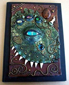 Art Journal Cover by Christina A Kapono