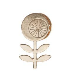 pin's pop, mini labo, pin's en laiton doré, love, amour, flower, fleur