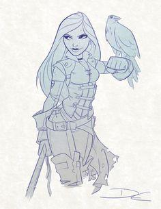 Falconer  (www.facebook.com/CharacterDesignReferences & pinterest.com/characterdesigh) www.facebook.com/groups/CharacterDesignChallenge)