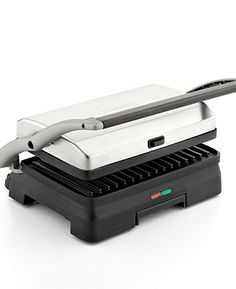 Cuisinart GR-11 Griddler and Panini Press - with removable plates- Electrics - Kitchen - Macy's