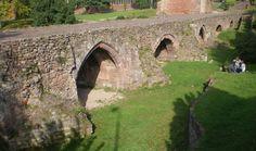 Ancient bridge, Exeter.