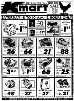 Remember in with grandparents waiting till Kmart opened Vintage Tools, Vintage Ads, Vintage Images, Old Advertisements, Retro Ads, Old Ads, Thats The Way, Vintage Recipes, The Good Old Days