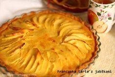 Blog Bo(ro)n Appétit: Francuska tarta z jabłkami