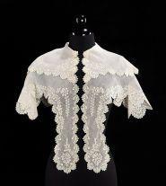 Cape, ca. 1830, American, cotton