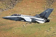 RAF Tornado F3 ZE728 low level at Thirlmere