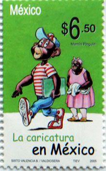 La caricatura en México #CorreosdeMéxico #Postal #Estampillas #Colección