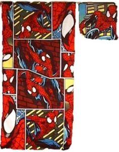 Spider Man Bathroom Items   SPIDERMAN 2 Piece Bath/Washcloth Towel Set   NEW