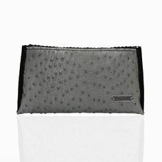 Ostrich Pouch: PEcado #PEcado #PEcadohandbags, #handbags #leather #amazinghandbags #purses #totes #shoplocal #styleshack #northernmichgian #shoplocalmichigan #animal #fur #stylish #ostrich #highend