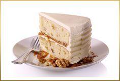 "Butterscotch Walnut Cake    Recipe by Chef Duff Goldman    YIELD: (2) 9"" ROUND CAKES  DIFFICULTY: INTERMEDIATE"