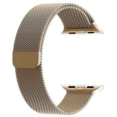 Walcase Milanese Loop with Magnet Lock Replacement iWatch Band for Apple Watch Band 42mm Gold
