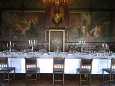 Warwick Castle  Dining Room  Pinterest  Warwick Castle And Castles Fascinating Castle Dining Room 2018