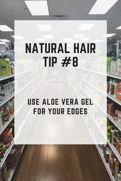 Natural Hair Tip #8