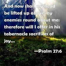 Image result for psalm 27:6