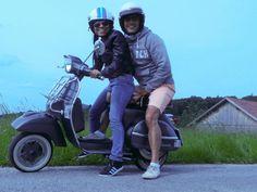 Vespa, Motorcycle, Hats, Vehicles, Wasp, Hornet, Hat, Rolling Stock, Vespas