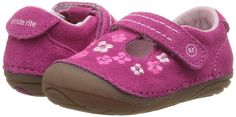 Stride Rite SM Tonia (Infant/Toddler) (Pink) Girl's Shoes Girls Shoes, Baby Shoes, Walker Shoes, First Walkers, Pink Girl, Bean Bag Chair, Footwear Shoes, Street Style, Handbags