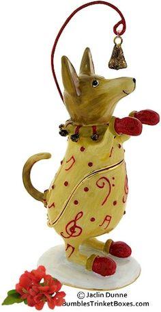 Trinket Box: Whimsical Chihuahua