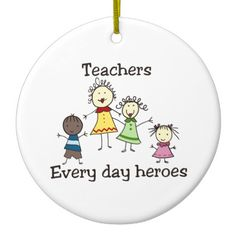 Teachers Every day heroes Christmas Ornaments Teachers Support the healthy development of kids through joyful learning! Pick those designs by Concord! Stone Crafts, Rock Crafts, Clear Ornaments, Christmas Ornaments, Nurses Week Quotes, Painting Teacher, Teacher Stickers, Stick Art, Painted Rocks Kids