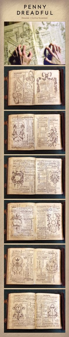 Penny Dreadful - Spell Book by Irio.deviantart.com on @DeviantArt