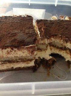 Τυραμισού κ-ο-λ-α-σ-η !!!!!! No Cook Desserts, Party Desserts, Sweet Desserts, Greek Recipes, Desert Recipes, Sweets Cake, Cupcake Cakes, Cupcakes, Greek Sweets