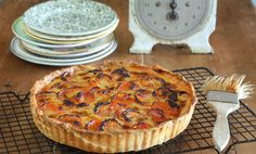 Maggie Beer's Dried Apricot Tart with Verjuice and Honey