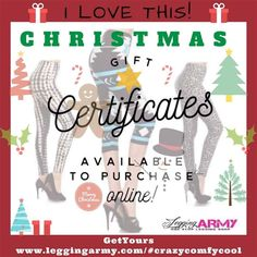 Dont forget! We do offer gift certificates and its a great way to cut down on stress, especially if you got a picky or hard to get for person on your list!