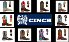 New Styles of #Cinch #boots #fun #fashion #new #cowboy #rodeo #nfr #houston #music
