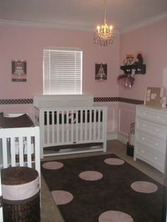 1000 images about a room 4 jessica on pinterest pink for Brown and pink bedroom ideas for a girl