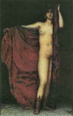 Franz von Stuck  -  Phyrne  (1918)