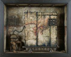 Oscar Sanmartin : Diorama 4, 2000
