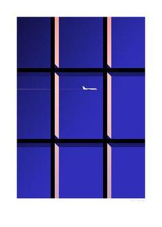 Window-Thomas Danthony Sergeant Paper editions Giclee print sur papier Innova 210 gr 50x70 cm - 1/50 ex  Numéroté et signature numérique