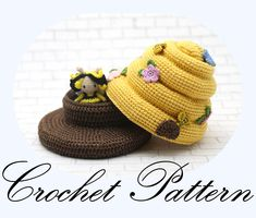 CROCHET PATTERN: Amigurumi Bee, Crochet Beehive, Amigurumi Doll, Kawaii Pattern, Amigurumi Pattern (English Only) by PinkMouseBoutique on Etsy https://www.etsy.com/ca/listing/583484534/crochet-pattern-amigurumi-bee-crochet