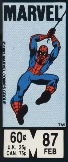 Marvel corner box art - Spider-Man