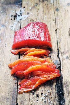 Gravlax très coloré aux légumes et aux épices...