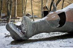 The Dinosaur Graveyard of East Berlin.