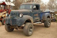 1947 Dodge custom pickup truck in Saskatchewan Custom Pickup Trucks, Classic Pickup Trucks, Old Pickup Trucks, Pickup Camper, Jeep Pickup, Old Dodge Trucks, Gmc Trucks, Cool Trucks, Dodge Cummins